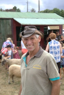 Andy from 'Old McDonald's Travelling Farmyard' brings the farmyard to you.