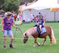 Pony rides were the highlight of the show!