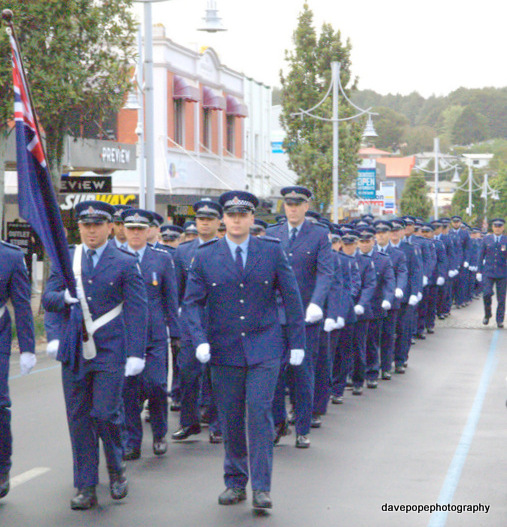 Police Pay Parade | Franklin Life NZ