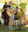 Jasmine Tilyard entertains.