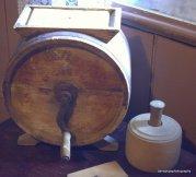 A butter churn
