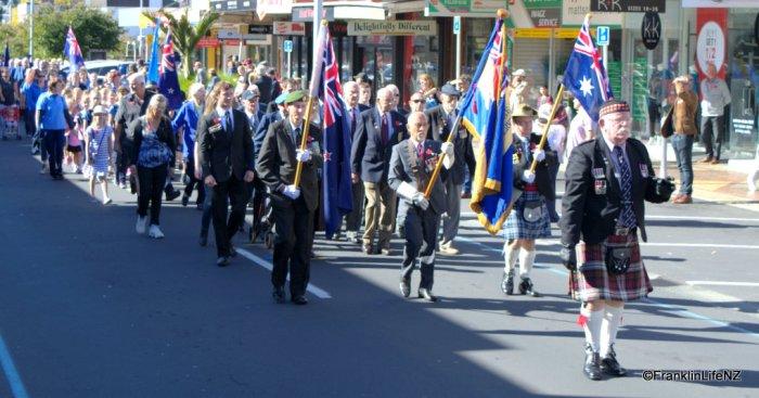 Video: ANZAC Dawn Parade in Pukekohe