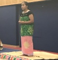 Atieneta Teremoa, who won her year 7 & & 8 Kiribati section.