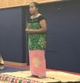 Atieneta Teremoa, who won her year 7 & & 8 Kiribati section.