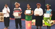 Kiribati students
