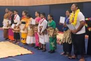Tongan students